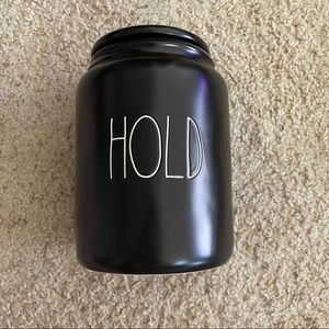 HOLD Rae Dunn large canister